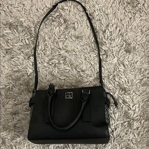 Calvin Klein Black crossbody/shoulder purse